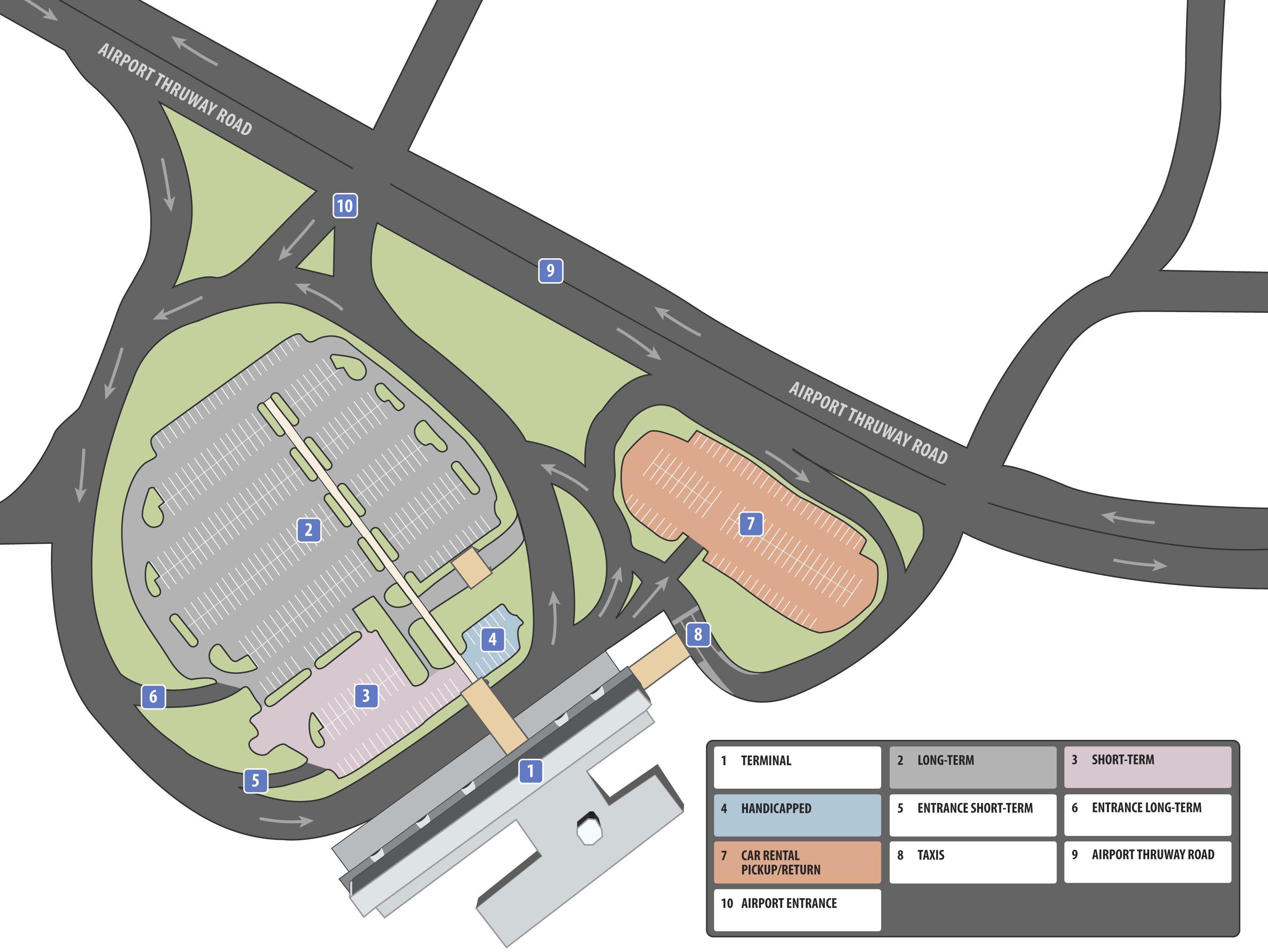 Car Rental Columbus Ga >> Terminal Maps | Columbus GA Airport